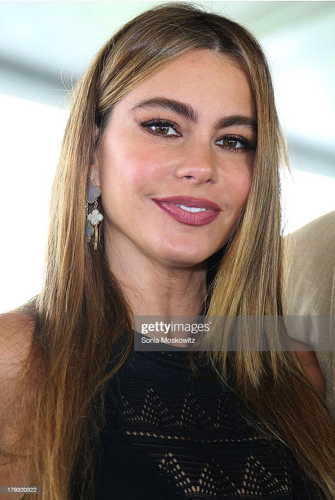 <a gi-track='captionPersonalityLinkClicked' href=/galleries/search?phrase=Sofia+Vergara&family=editorial&specificpeople=214702 ng-click='$event.stopPropagation()'>Sofia Vergara</a> attends the 38th Annual Hampton Classic Horse Show - Grand Prix Sunday on September 1, 2013 in Bridgehampton, New York.