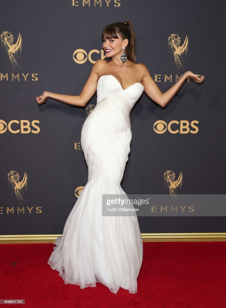 Sofia Vergara attends the 69th Annual Primetime Emmy Awards at Microsoft Theater on September 17, 2017 in Los Angeles, California.