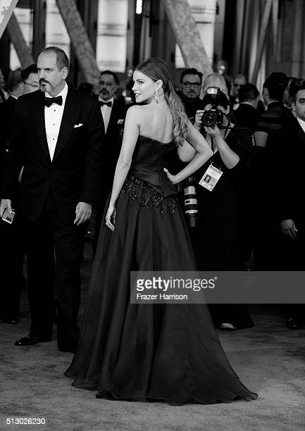 Sofia Vergara attends the 88th Annual Academy Awards at Hollywood Highland Center on February 27 2016 in Hollywood California