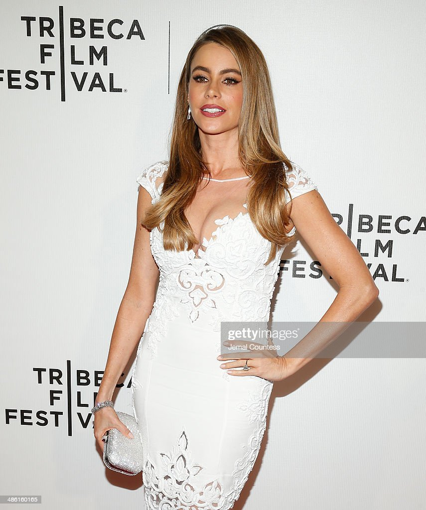 Sofia Vergara attends the 'Chef' Premiere during the 2014 Tribeca Film Festival at BMCC Tribeca PAC on April 22, 2014 in New York City.