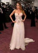 Sofia Vergara attends the 'China Through The Looking Glass' Costume Institute Benefit Gala at the Metropolitan Museum of Art on May 4 2015 in New...