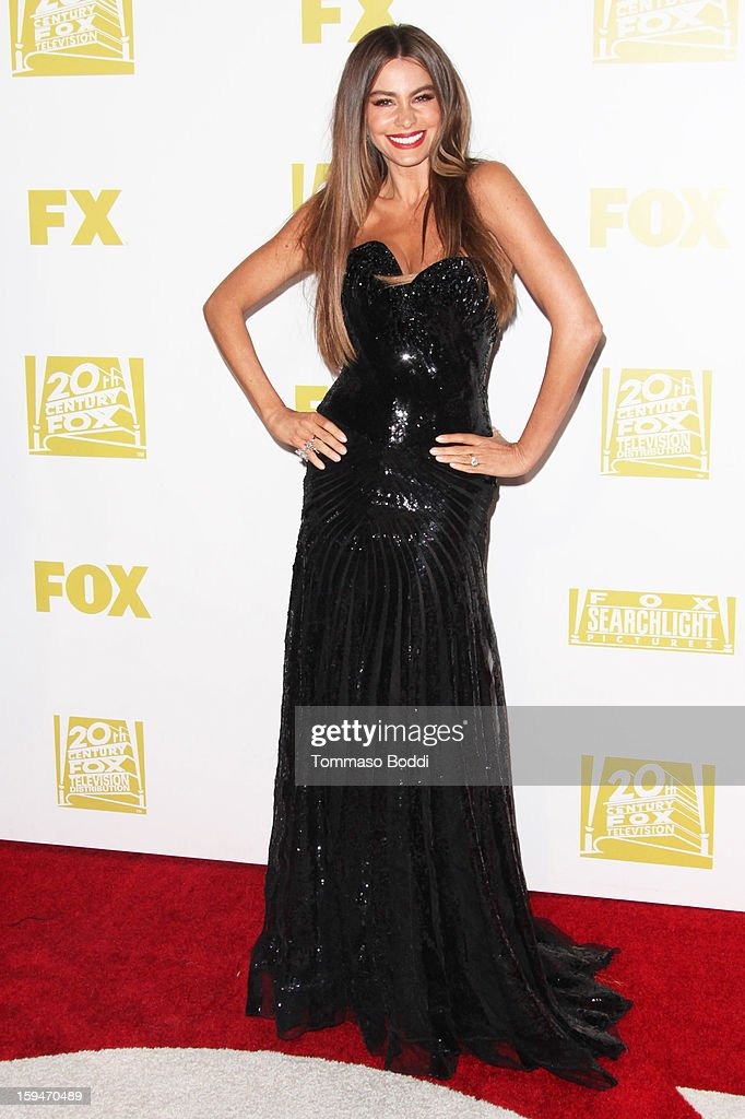 Sofia Vergara attends the FOX Golden Globe after party held at the FOX Pavilion at the Golden Globes on January 13, 2013 in Beverly Hills, California.