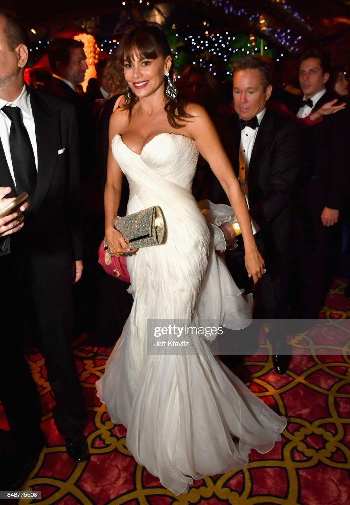 Sofia Vergara attends the HBO's Official 2017 Emmy After Party at The Plaza at the Pacific Design Center on September 17, 2017 in Los Angeles, California.