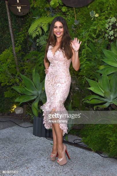 Sofia Vergara attends the Official Raze Launch Party at Smogshoppe on June 26 2017 in Los Angeles California