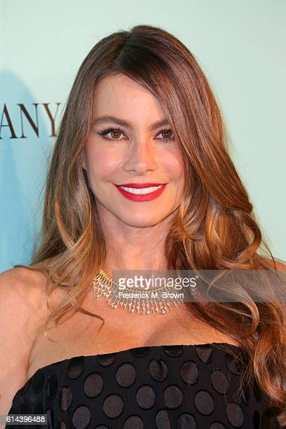 Sofia Vergara celebrates the unveiling of the renovated Tiffinay Co Beverly Hills store at Tiffany Co on October 13 2016 in Beverly Hills California