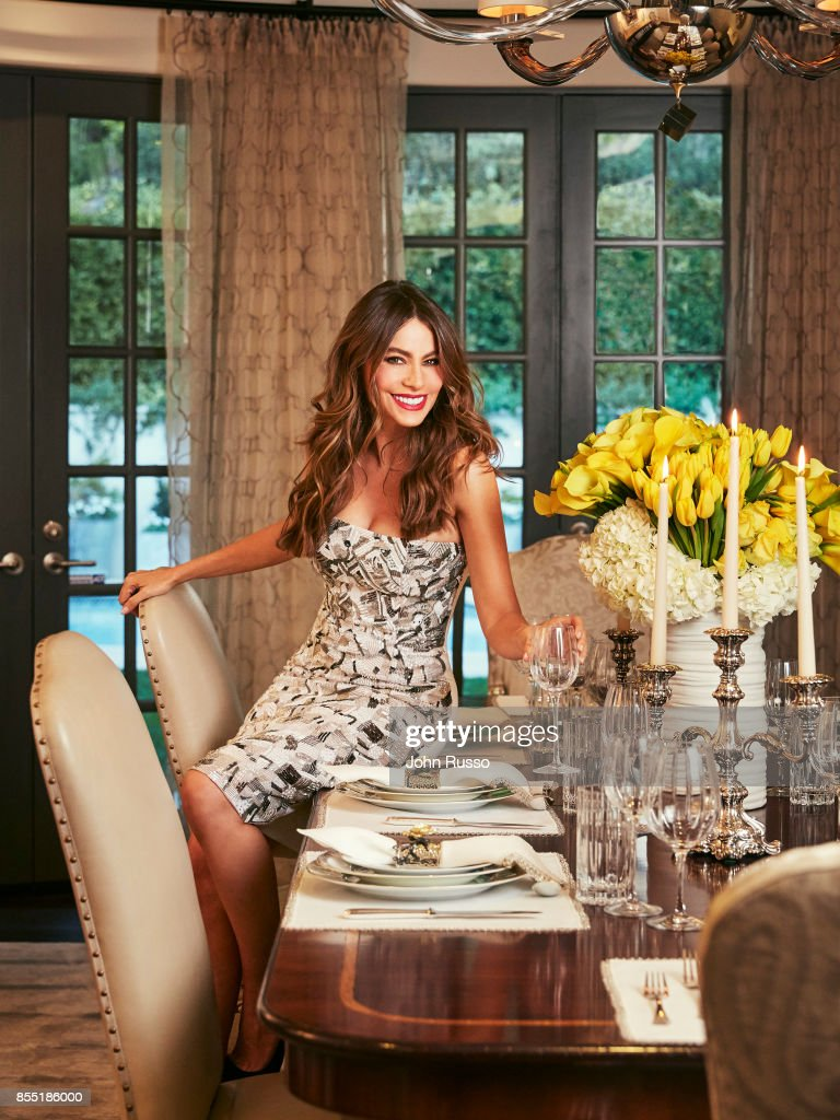 Sofia Vergara is photographed in her home for Hola Magazine on December 8, 2016 in Los Angeles, California.