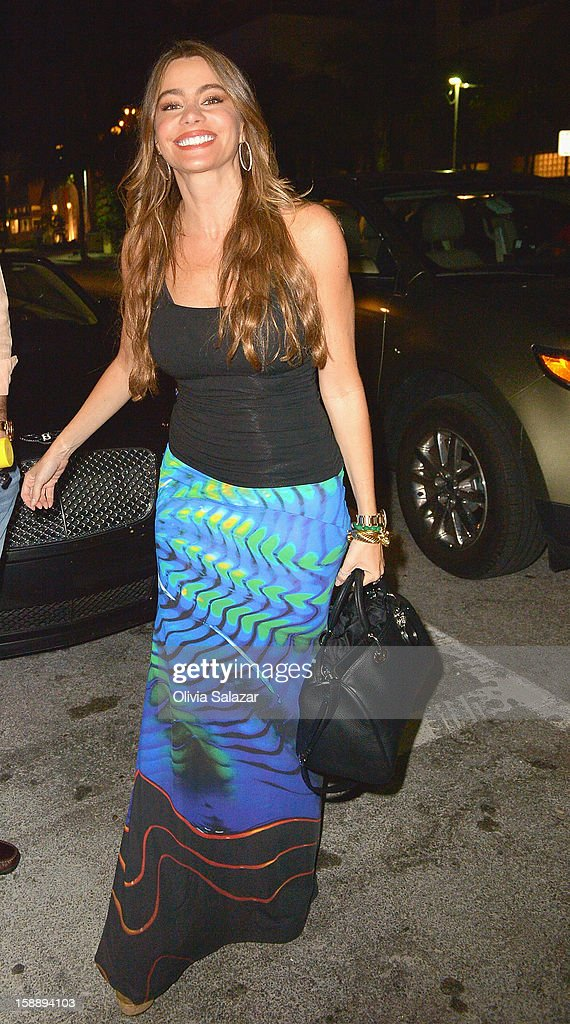 <a gi-track='captionPersonalityLinkClicked' href=/galleries/search?phrase=Sofia+Vergara&family=editorial&specificpeople=214702 ng-click='$event.stopPropagation()'>Sofia Vergara</a> is seen at Prime 112 Steakhouse on January 2, 2013 in Miami Beach, Florida.