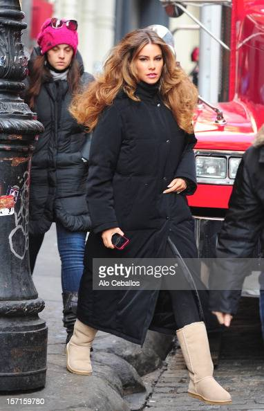 Sofia Vergara is seen in Soho at Streets of Manhattan on November 29 2012 in New York City