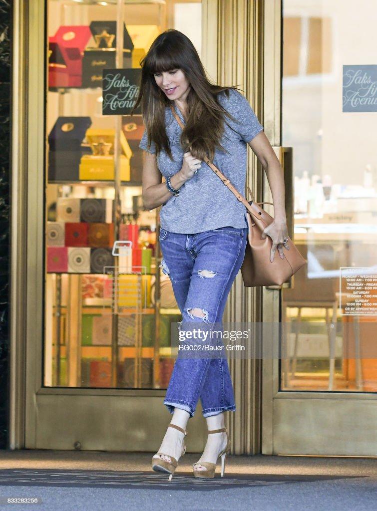 Sofia Vergara is seen on August 16, 2017 in Los Angeles, California.
