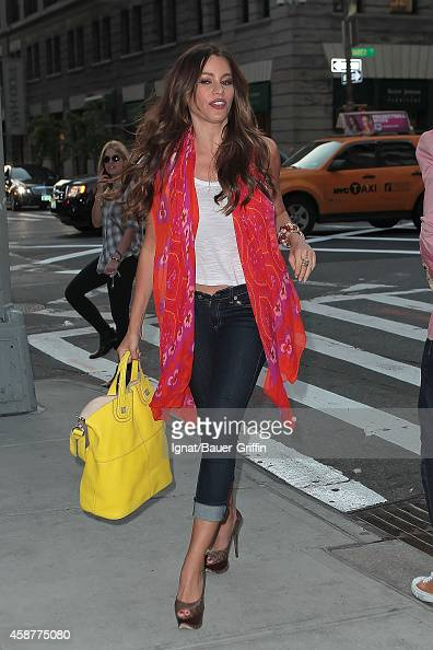 Sofia Vergara is seen on May 17 2012 in New York City