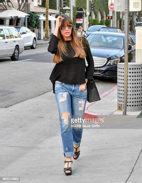 Sofia Vergara is seen on October 19 2017 in Los Angeles California