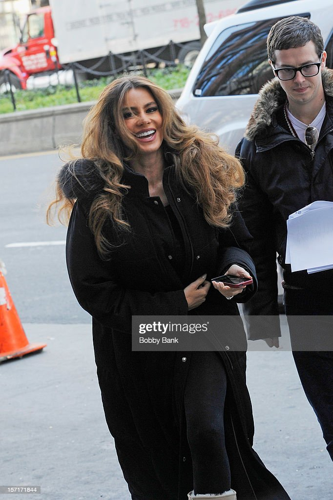 <a gi-track='captionPersonalityLinkClicked' href=/galleries/search?phrase=Sofia+Vergara&family=editorial&specificpeople=214702 ng-click='$event.stopPropagation()'>Sofia Vergara</a> on location for 'Fading Gigolo' on November 29, 2012 in New York City.