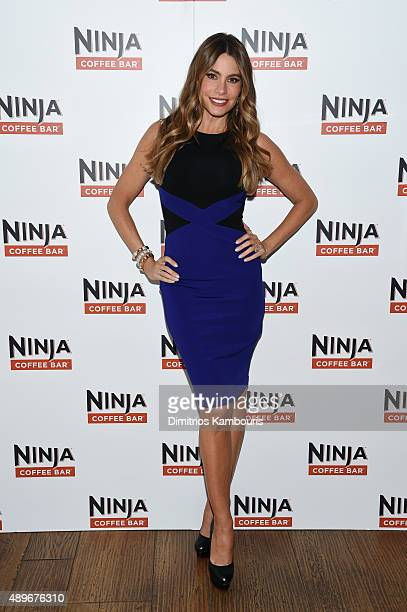Sofia Vergara partners with Ninja to launch Ninja Coffee Bar at Andaz Hotel on September 23 2015 in New York City