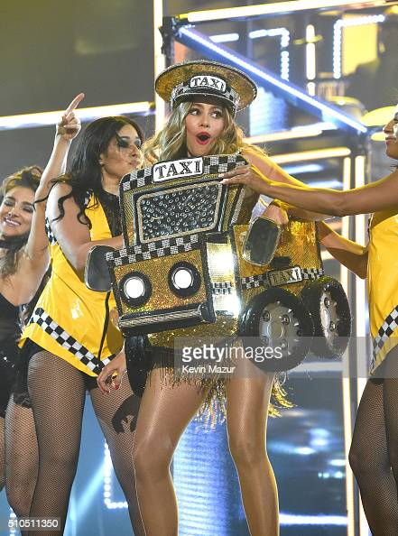 Sofia Vergara performs onstage during The 58th GRAMMY Awards at Staples Center on February 15 2016 in Los Angeles California
