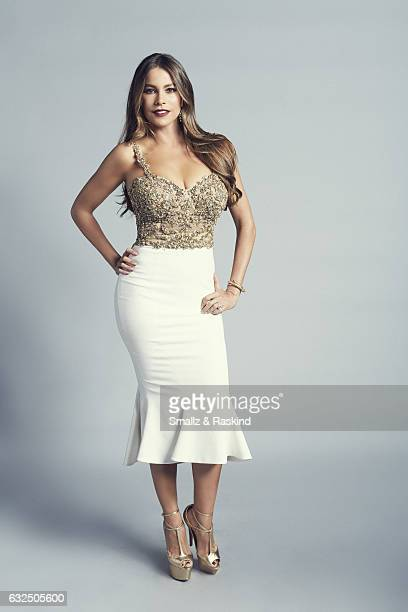 Sofia Vergara poses for a portrait at the 2017 People's Choice Awards at the Microsoft Theater on January 18 2017 in Los Angeles California