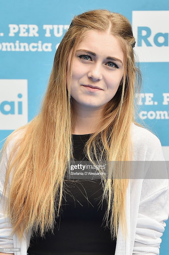 Sofia Viscardi attends Rai Show Schedule Presentation In Milan on June 28, 2016 in Milan, Italy.