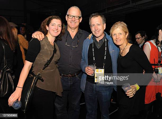 Sofia Warner George Warner Peter Golub and Lisa Cunningham attend the Awards Night Ceremony Reception during the 2012 Sundance Film Festival at the...