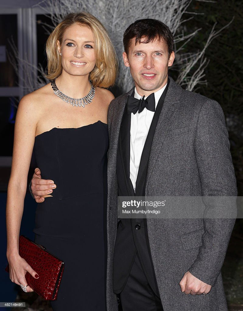 Sofia Wellesley and <a gi-track='captionPersonalityLinkClicked' href=/galleries/search?phrase=James+Blunt&family=editorial&specificpeople=209243 ng-click='$event.stopPropagation()'>James Blunt</a> attend the Centrepoint Winter Whites Gala at Kensington Palace on November 26, 2013 in London, England.