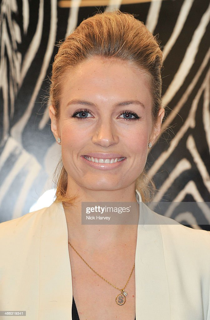 Sofia Wellesley attends the opening of the new Amanda Wakeley store on January 30, 2014 in London, England.