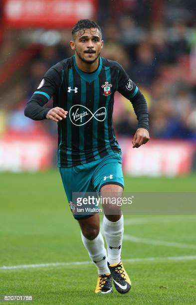Sofiane Boufal of Southampton during the Pre Season Friendly match between Brentford and Southampton at Griffin Park on July 22 2017 in Brentford...