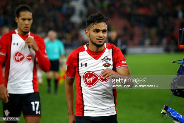 Sofiane Boufal of Southampton FC during the Premier League match between Southampton and West Bromwich Albion at St Mary's Stadium on October 21 2017...