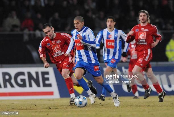 Sofiane FEGHOULI Dijon / Grenoble 8eme Finale de la Coupe de France 2008/2009