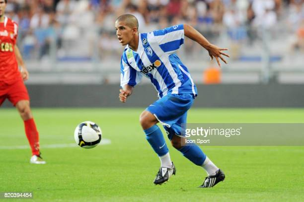 Sofiane FEGHOULI Grenoble / Monaco 4eme journee de ligue 1