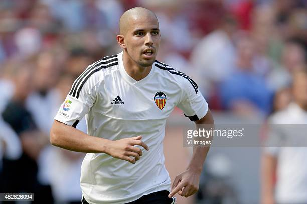 Sofiane Feghouli of Valencia CF during the Colonia Cup match between 1 FC Koln and Valencia on August 2 2015 at the RheinEnergieStadion in Koln...