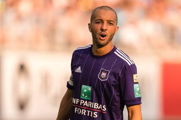 نتيجة بحث الصور عن Algerian Sofiane Hanni, R.S.C. Anderlecht player.