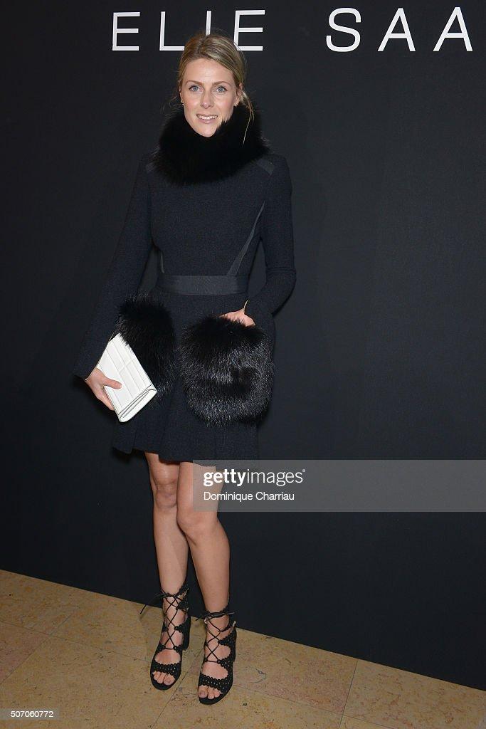 Elie Saab : Front Row - Paris Fashion Week - Haute Couture Spring Summer 2016