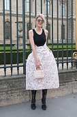 Sofie Valkiers wears all Dior on day 4 of Paris Collections Women on March 06 2015 in Paris France