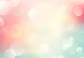 Soft colors blurred spring summer background.Abstract pink yellow green blue backdrop.Natural shiny bokeh.