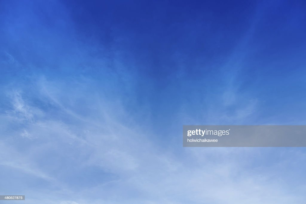 soft could with blue sky : Stock Photo