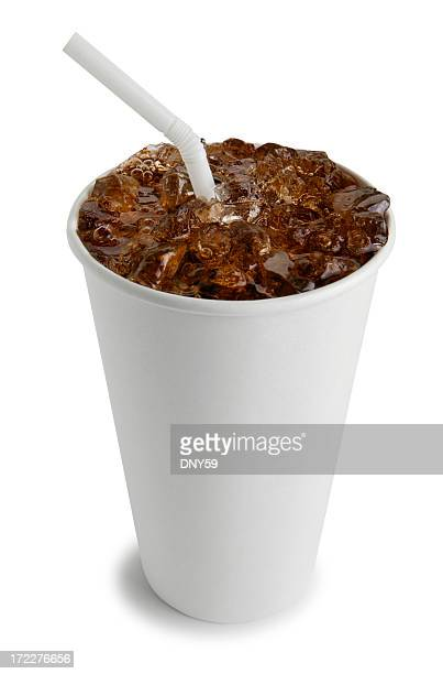 Soft Drink with Straw