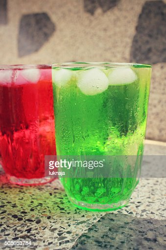 Soft drinks : Stock Photo