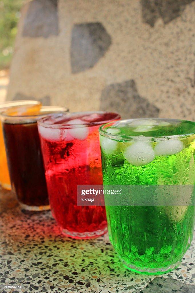 Soft drinks : Stock Photo