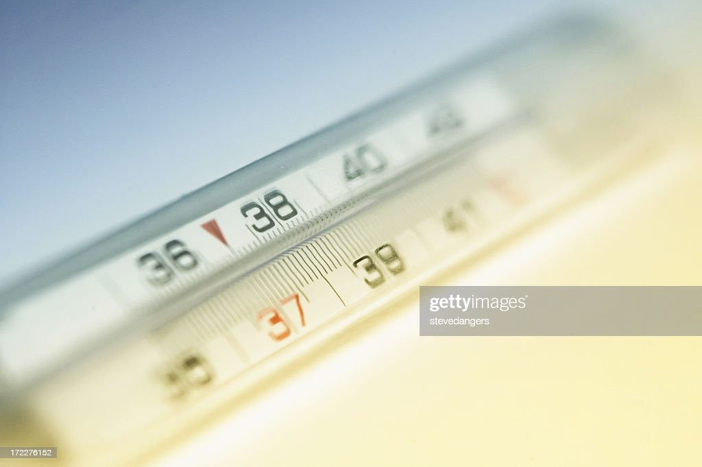 Soft focus Termometro : Foto stock