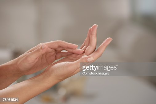 Soft hands : Stock Photo