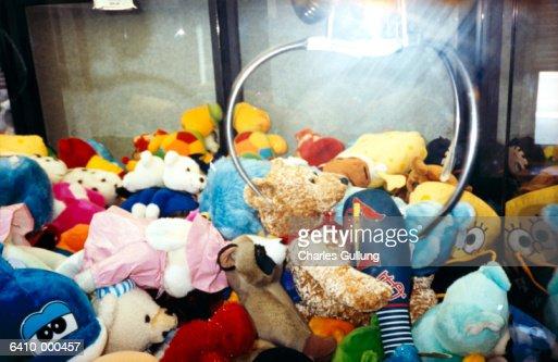Soft Toys in Arcade Machine