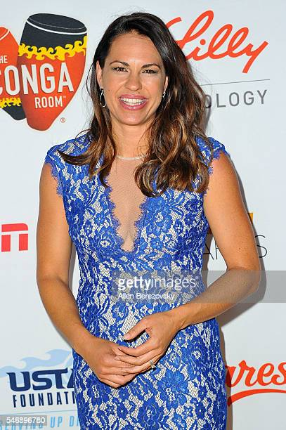 Softball player Jessica Mendoza attends the 2nd annual Sports Humanitarian of The Year Awards at Conga Room on July 12 2016 in Los Angeles California