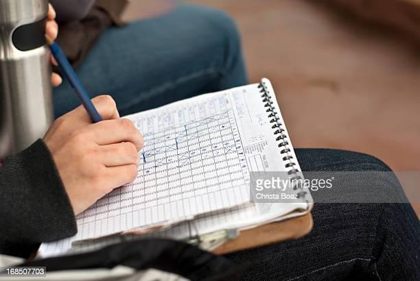 ソフトボール Scorekeeping