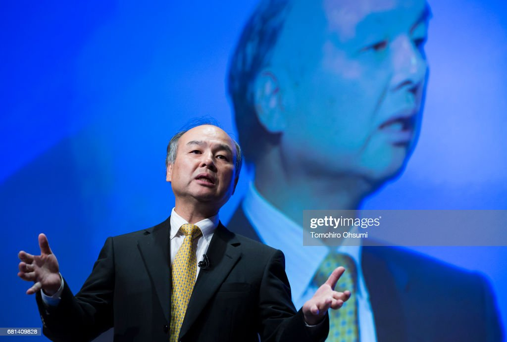 Softbank CEO Masayoshi Son Press Conference