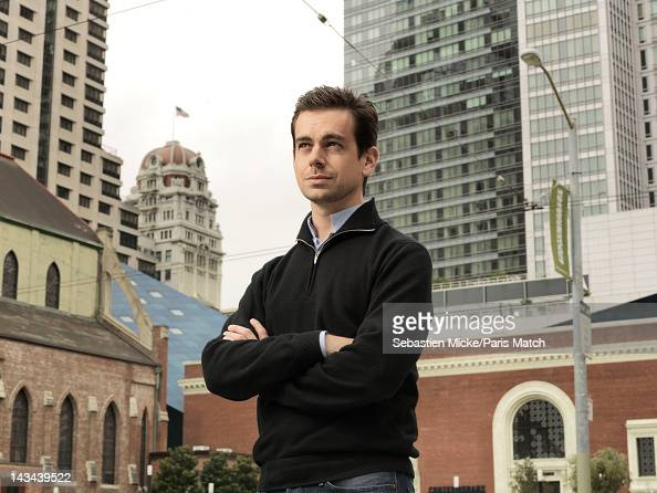 Software architect and creator of Twitter Jack Dorsey is photographed for Paris Match on March 29 2012 in San Francisco California