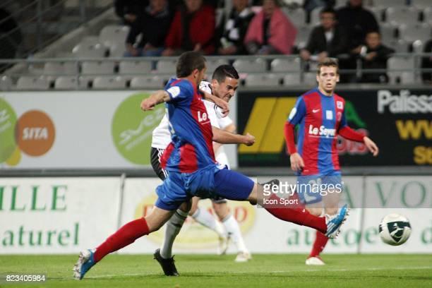 Sofyane CHERFA / Virgile RESET Vannes / Chateauroux 10eme journee de Ligue 2