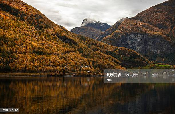 Sognefjord in fall, Norway