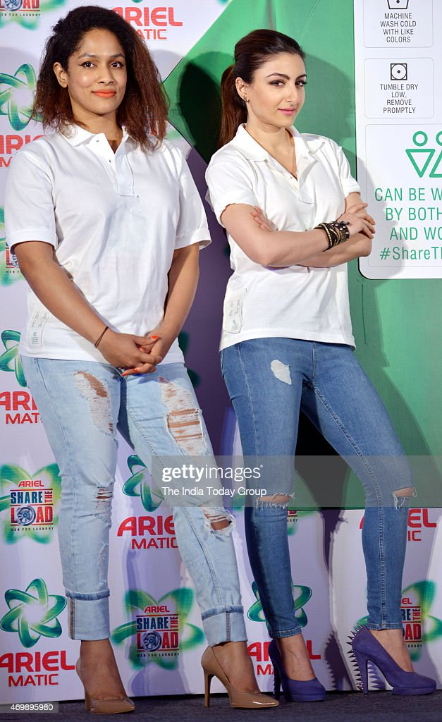 Soha Ali Khan at the launch of a new product by a detergent company