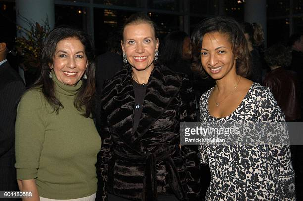Sohair Khashoggi Christina Wood and Dr Shirley Madhere attend HENNESSY COGNAC CHAMBER DANCE PROJECT Invite You To The Opening Night Performance And...