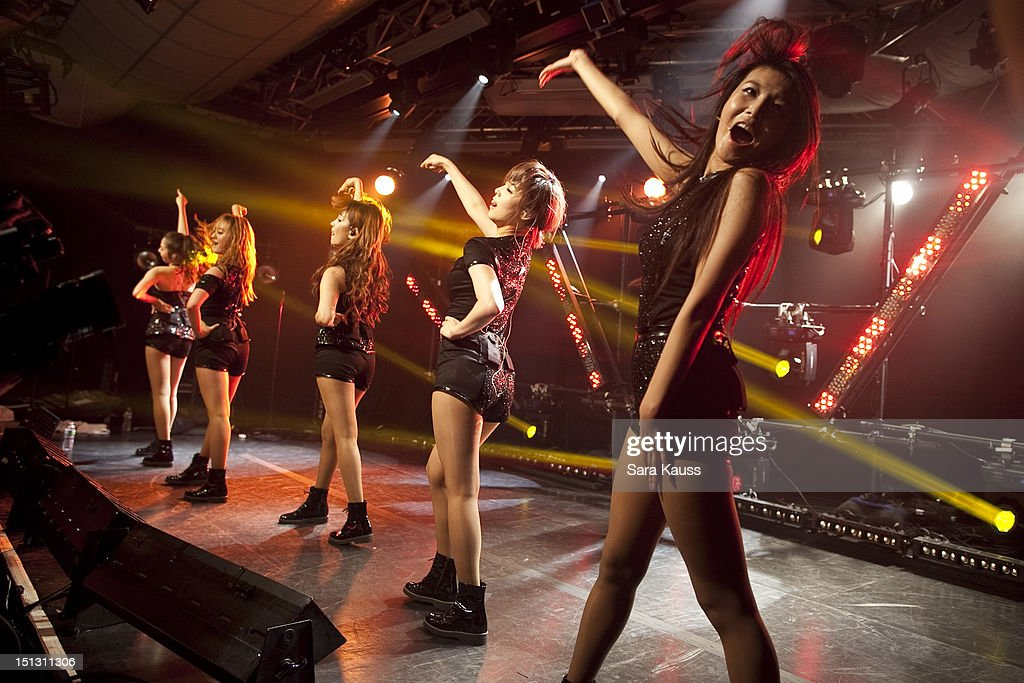 Sohee, Lim, Yenny, Sun and Yubin of Wonder Girls perform onstage at iHeartRadio Presents Wonder Girls at iHeartRadio Performance Theater on September 5, 2012 in New York City.