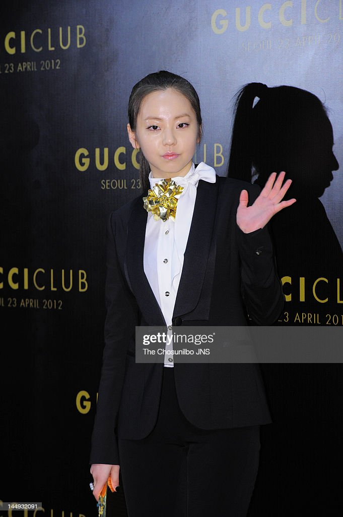 So-Hee of Wonder girls attends the 'Gucci Club' Party for celebrating the renewal of Gucci Seoul Flagship Store on April 23, 2012 in Seoul, South Korea.