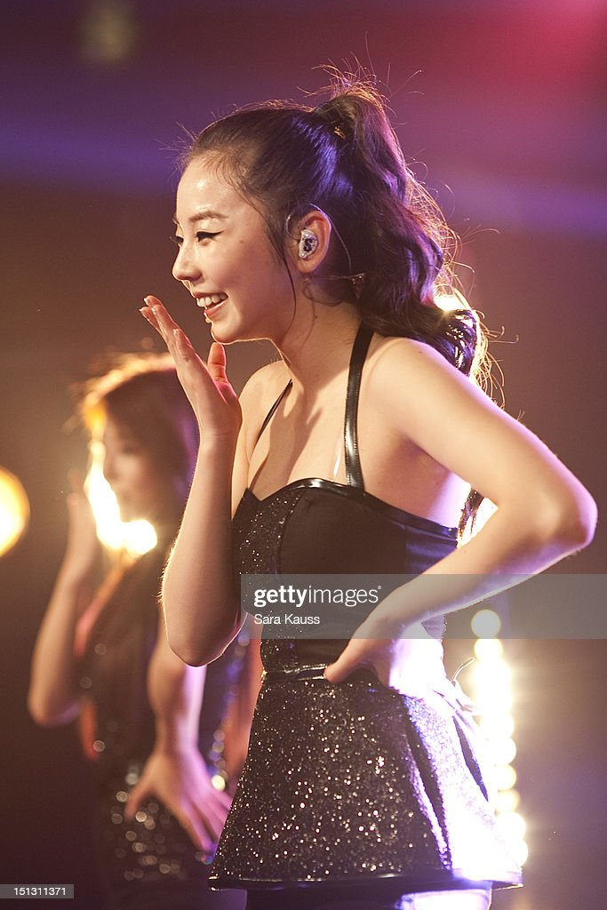 Sohee of Wonder Girls performs onstage at iHeartRadio Presents Wonder Girls at iHeartRadio Performance Theater on September 5, 2012 in New York City.